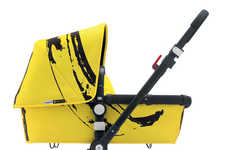 Pop Art Baby Carriages - The Andy Warhol Banana Bugaboo Stroller Will Have Parents Going Apes
