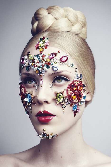 Dramatic Makeup Look Ads