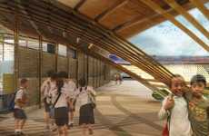 Typhoon-Resistant Architecture - This Innovative School Building Was Designed by MAT-TER