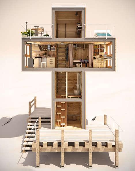 Iconographic Miniature Homes