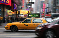 Moving Taxi Cab Ads - Live Screens Now Sit Atop Taxis in New York