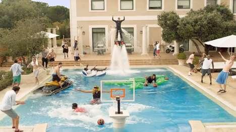 Jet-Fueled Basketball Ads