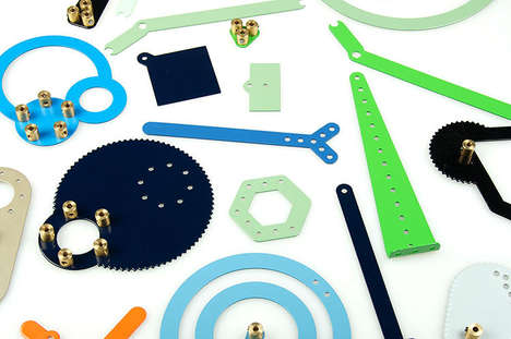 Modernized Meccano Toys - Meekaanoo by Tomm Velthuis is Inspired by a Vintage Assembly Set