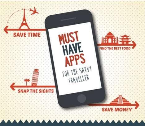 Travelling App Infographics