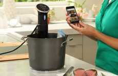 App-Controlled Cookers - The Anova Precision Sous-Vide Cooker Can Be Controlled Via an iPhone App
