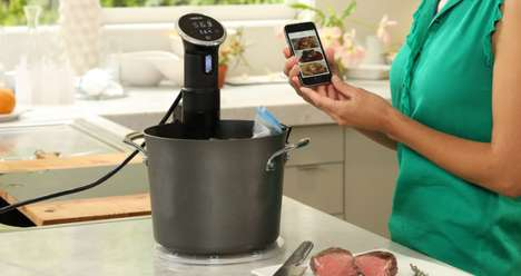 App-Controlled Cookers
