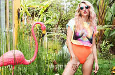 Neon Paradise Lookbooks - Rachel Yampolsky Stars in Gypsum's Summer 2014 Lookbook