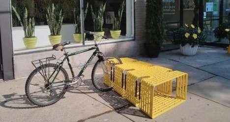 Sittable Bicycle Storage