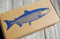 Artisan Seafood Branding - The Sitka Salmon Shares Packaging is Artfully Illustrated