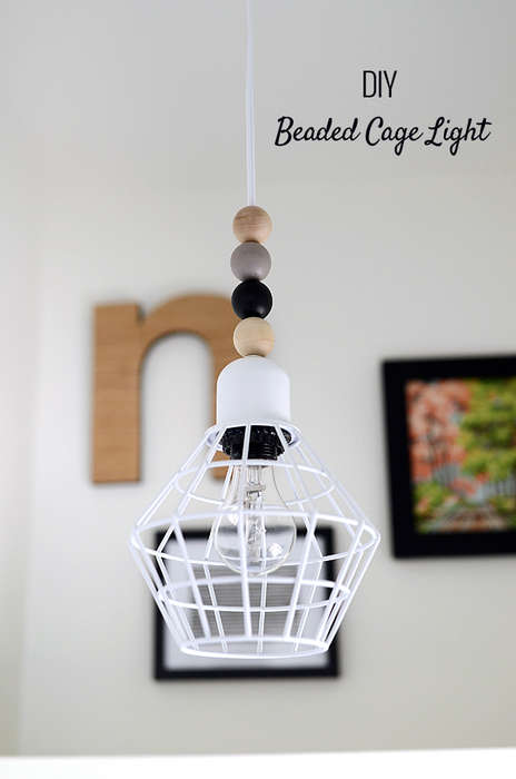 Chic Caged Lights