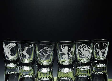 Fantasy Shot Glasses