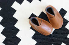 Lush Leather Booties - These DIY Leather Baby Boots are Perfect for Fashion-Forward Parents