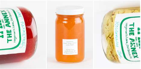 Homemade Homestead Jams - The Youngs Farm Natural Jams are Made with Fresh Fruit Ingredients