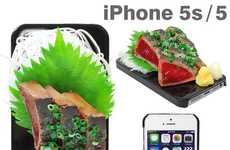 Food Sample Phone Covers - This Delectable Sushi Phone Case Features a Fake 3D Japanese Food Feast