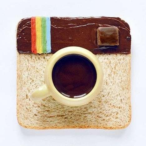 Social Media Food Art
