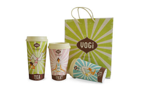 Yoga-Inspired Tea Branding - Yogi Tea Promotes Healthy Living