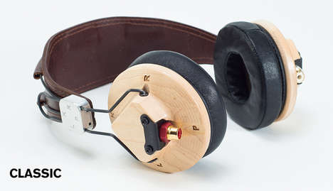 Sleek Eco Headphones - The LKPR No Comply Headphones are Made from Sustainable Material