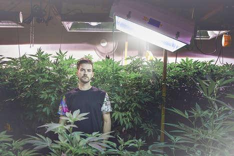 Cannabis Streetwear Lookbooks