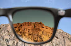 Photo Filter Sunglasses - Tens Sunglasses Let You View the Real World in Instagram Hues