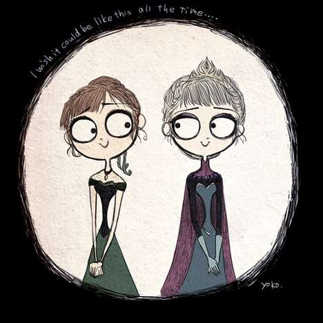 Gothic Frozen Film Adaptations