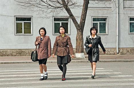 Korean Divide Photos