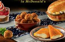 Deep-Fried Cheese Dishes - McDonald's Romania Introduces Unique Culture-Specific Foods