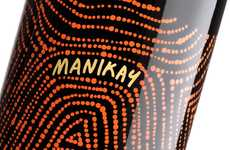 Song-Inspired Wine Branding - Manikay Wine Uses Aboriginal Music for Inspiration