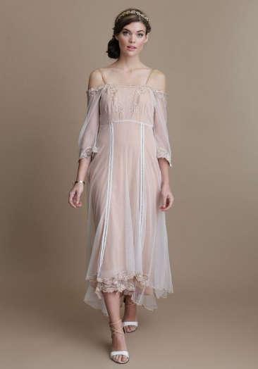 Demure Bohemian Bridalwear