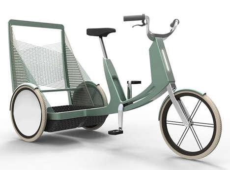 Efficient Nesting Rickshaws
