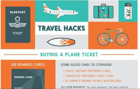 Travel Hack Infographics