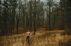 Remote Woodland Editorials - The Benedikt Angerer Kaltblut Exclusive is Ambiguously Edgy