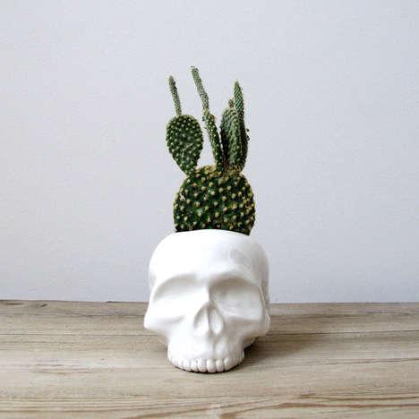 Cranium-Shaped Eco Accessories