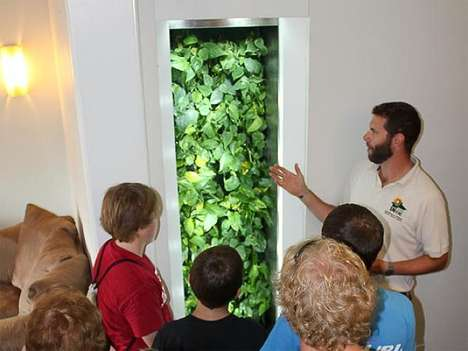 Air Duct Vertical Gardens