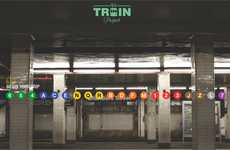 Subway Signage Archival Projects - The NY Train Project Celebrates the Beauty of Station Signs