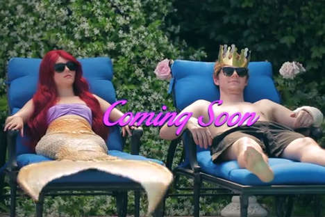 Real-Life Disney Movie Parodies - The Funny or Die 'Little Mermaid' Video Mocks Coppola's Adaptation