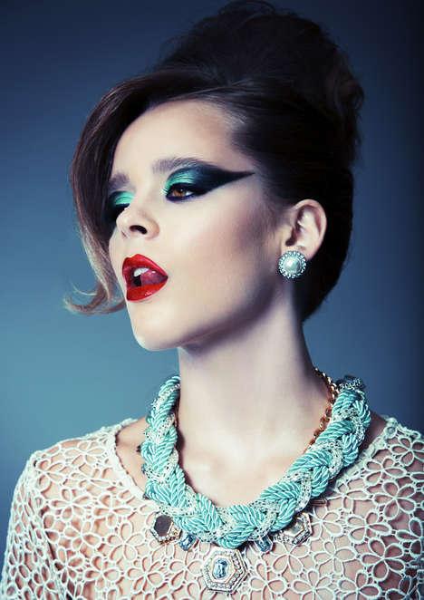 Vibrantly Bold Beauty Photoshoots