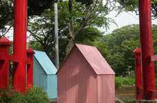 Paper Art-Inspired Shelters - The Origami House by Architecture Global Aid is Ideal for Emergencies