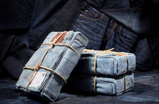 Durable Denim-Wrapped Boxes
