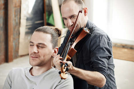 Hair-Spun Violin Strings