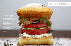 Iconic Actress Burgers - The Melon Monroe Burger Celebrates Actress Marilyn Monroe