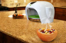 Biscuit Dish Bakers - The Bake.A.Dish Electrolux Concept Produces an Edible Bowl for Every Meal