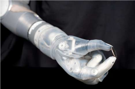 Brain-Operated Bionic Arms