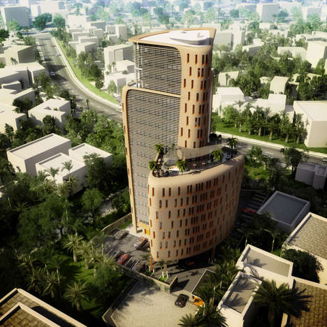 Luxury African Towers