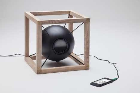 Spherical Floating Speakers