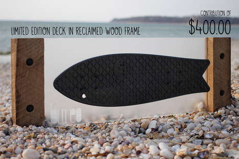 Recycled Fishnet Skateboards