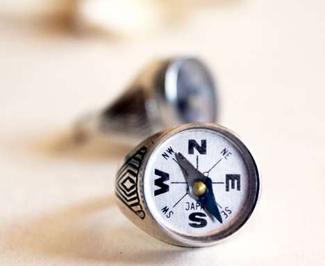 Miniature Compass Rings