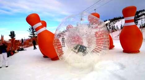 Icy Human Bowling Games