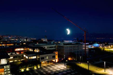 Artificial Moon Installations
