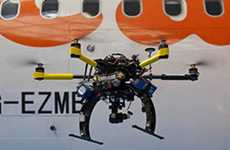 Airplane-Inspecting Drones - These Quadcopters Will Be Used to Inspect easyJet Aircraft