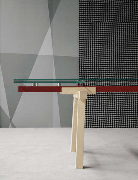 Extendable Glass Tables